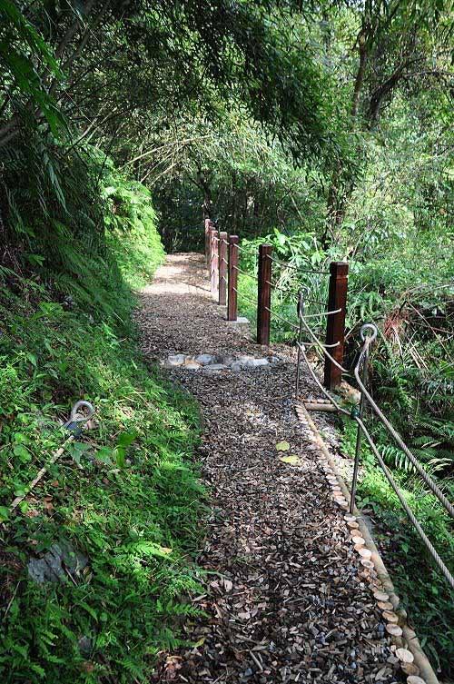 返回望古赏瀑步道,续走往上游方向。这条步道也是一条古道。(图片提供:tony)
