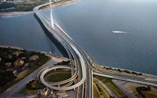淡江大橋不再浮橋  4年後大選年完工