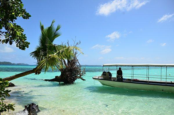 帛琉海滩(Pixabay)