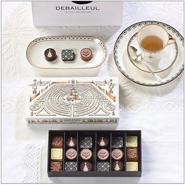 典雅贵气的Debailleul巧克力(DEBAILLEUL提供)