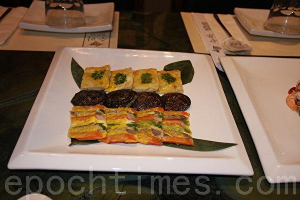 韓式宮廷料理。(徐綉惠/大紀元)