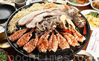 特價烤肉套餐送15種小菜 「姊妹」大鍋蓋燒烤