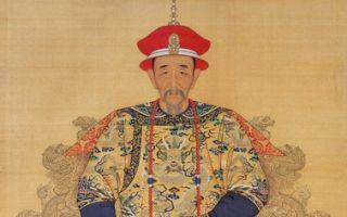 康熙大帝,宫廷画家绘(维基百科公共领域)