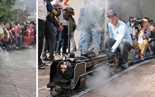 超人气蒸汽迷你列车,即将在23日重新在驳二与民众见面。(高市史博馆提供)