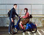 台湾演员张立昂与邵雨薇主演的三立华剧《1989一念间》于本周五(22日)晚间十点开播。(三立提供)