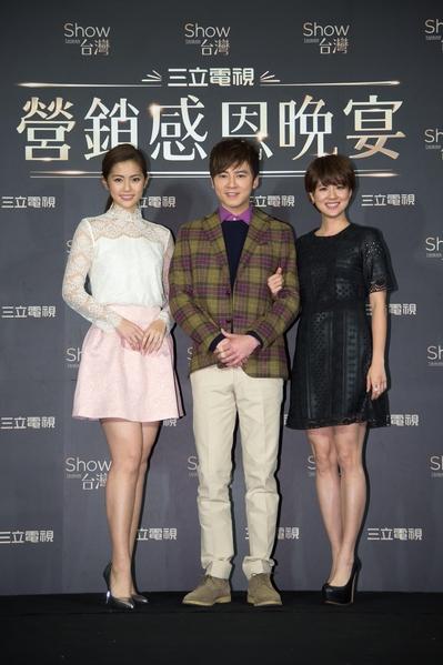 圖為任容萱(左起)、李國毅與林予晞。(三立提供)