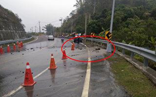 送水干管破裂  台南10万户停水