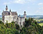 新天鹅城堡(维基百科公共领域)