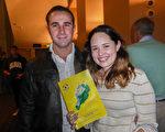 Nick Bobalitt 和Marisa Macleod一起觀看了1月20日晚上神韻國際藝術團在美國佛州墨爾本國王劇院的第二場演出。(袁麗/大紀元)