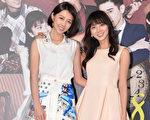 图为华剧《1989一念间》女主角(左起)邵雨薇与蔡黄汝(豆花妹)。(三立提供)