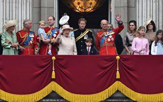 英国女王90岁生日 伦敦街头万人寿筵
