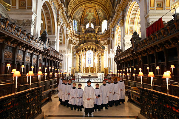2016年6月第二個周末將迎來英國女王90大壽,女王官方生日(6月11日)之前的星期五(6月10日)將在聖保羅大教堂舉行感恩儀式。圖為聖保羅大教堂。(Carl Court/Getty Images)