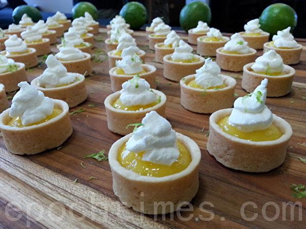 KeyLime Pie Tartlets。(李清/大紀元)