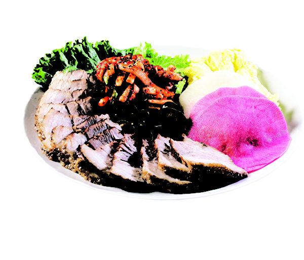 清淡卤制的大块五花肉,口味丰富。(店家提供)