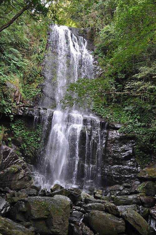 """云森瀑布之一:云心瀑布(或被直接称为""""云森瀑布"""")。 (图片提供:tony)"""