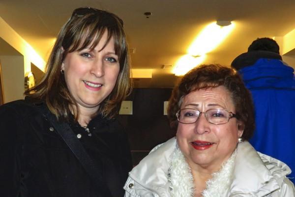 温哥华观众Edna Gruber说今年是第四次观看神韵。(廖青/大纪元)