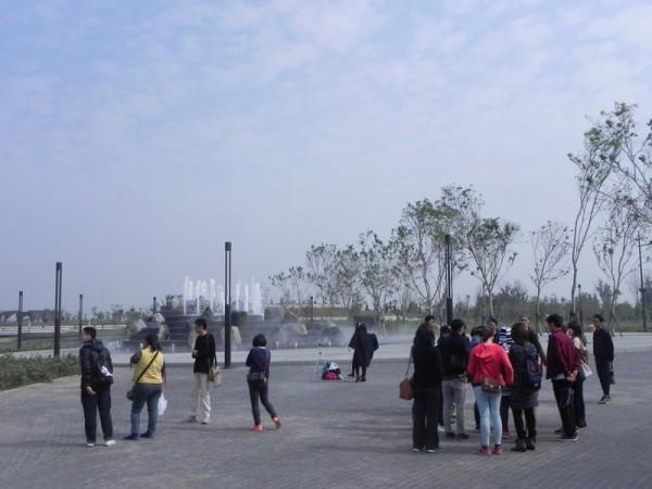 故宫南院广阔的园景之美令人心旷神怡。(蔡上海/大纪元)
