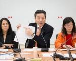 近來因霸王級寒流影響,全台農漁業災損慘重,親民黨團26日邀請農糧署、漁業署討論檢討對策。(陳柏州/大紀元)