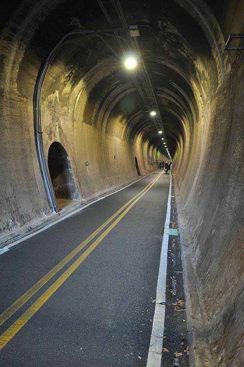 九号隧道。 (图片提供:tony)
