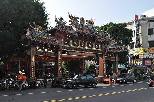 丰原慈济宫(妈祖庙),位于中正路179号。 (图片提供:tony)