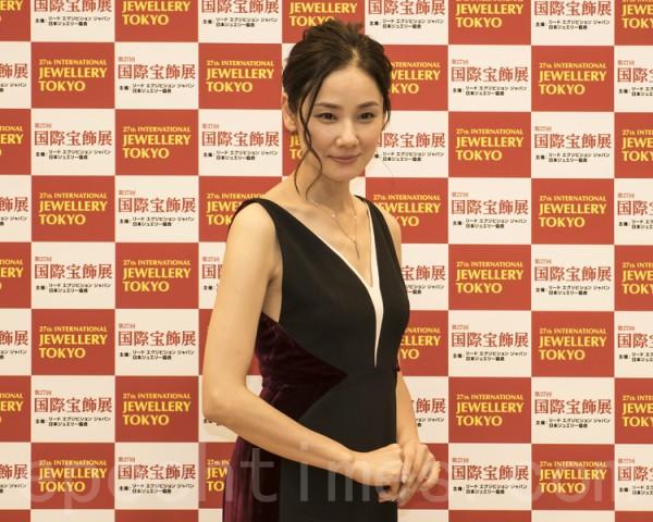 图为日本女演员吉田羊。(卢勇/大纪元)