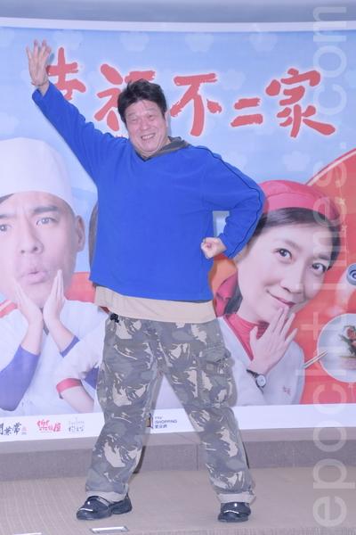 台视《幸福不二家》于2016年1月28日在台北举行首映会。图为罗北安。(黄宗茂/大纪元)