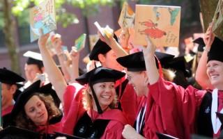 美大学毕业生十年来薪资最高 失业率降