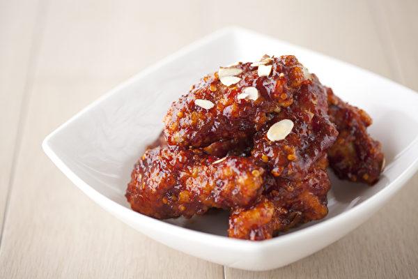 辣醬烤雞翅。(店家提供)