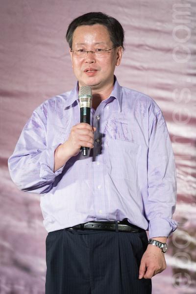 前北大教授夏业良表示,由于过去台湾太依赖中国的经济,所以短期内仍要依赖中国市场,但不需要自我矮化。(陈柏州/大纪元)