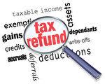"""在美国报税,电子报税上传后24小时内,就可以到国税局网站的""""我的退税""""(Where's My Refund)网页查看退税处理进度。(Fotolia)"""