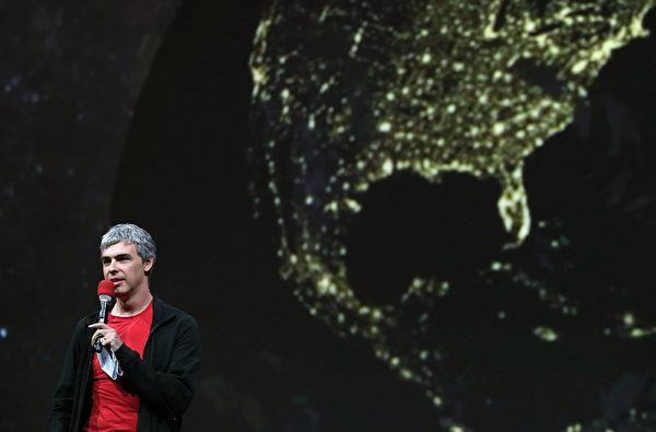佩奇是谷歌的共同创始人,现在是Alphabet的执行长。(Justin Sullivan/Getty Images)