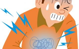 上腹痛被美国心脏学会列为心肌梗塞典型症状。(Fotolia)