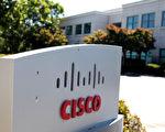 思科(Cisco)週三(10日)公布第2財季營收118億美元,盈利增長逾31%至31.5億美元,盤後股價大漲7.5%。(Justin Sullivan/Getty Images)
