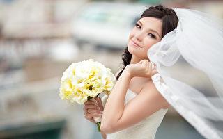 美丽的新娘在婚礼中是永远的主角。(fotolia