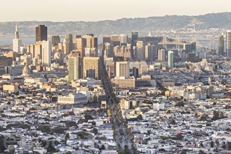 舊金山的房價已經達到歷史新高。(李歐/大紀元)