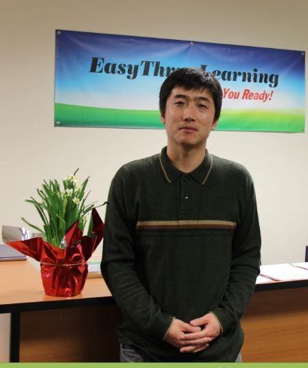 旧金山湾区易通教育中心创办人王柏庆博士(马天祥/大纪元)