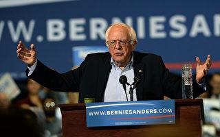 民主党参选人桑德斯(Bernie Sanders)。(GettyImages)