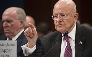 美國國家情報總監詹姆斯‧克拉珀(James Clapper)週五在德國的一個國際安全會議上發言時說,IS或使用化學武器攻擊美國。圖為克拉珀。 (SAUL LOEB/AFP/Getty Images)