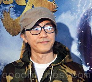 周星驰在香港宣传《美人鱼》资料照。(宋祥龙/大纪元)