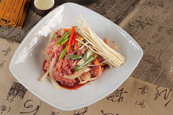 腌牛肉片(张学慧/大纪元)