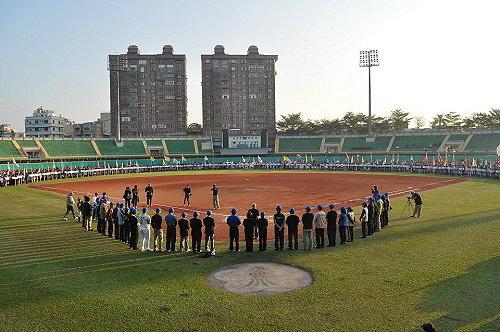 诸罗山杯国际软式少年棒球邀请赛开幕典礼。 (图片提供:tony)