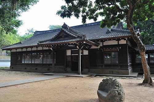 嘉义神社社务所,今为嘉义市史迹资料馆。 (图片提供:tony)