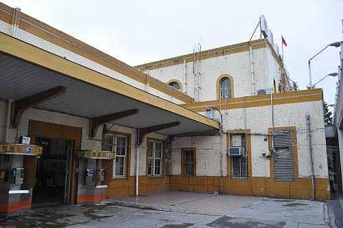嘉义火车站(市定古迹)。 (图片提供:tony)