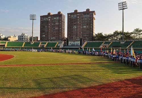 诸罗山杯国际软式少年棒球邀请赛开幕典礼。(图片提供:tony)