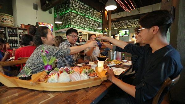 Ki Sushi & Sake Bar日本料理被越来越多的民众认可。(商家提供)