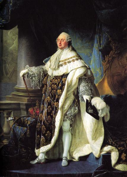 路易十六画像(公有领域)
