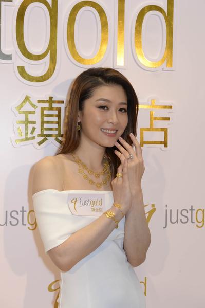 周丽淇表示求婚最重要的是诚意和惊喜,而非戒指的大小。(公关提供)