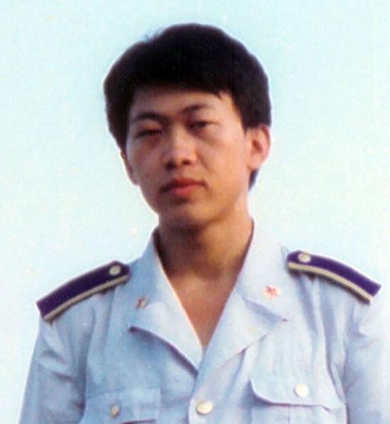 胡志明當空軍時的照片(大紀元)