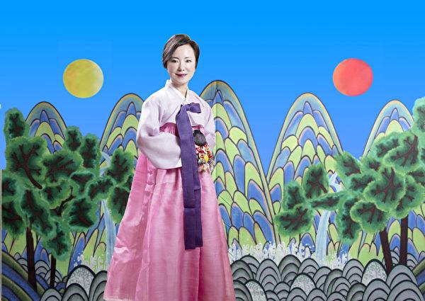 missKOREA老板Sophia Lee女士。(张学慧/大纪元)
