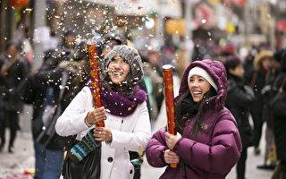 纽约中国新年庆祝活动早知道